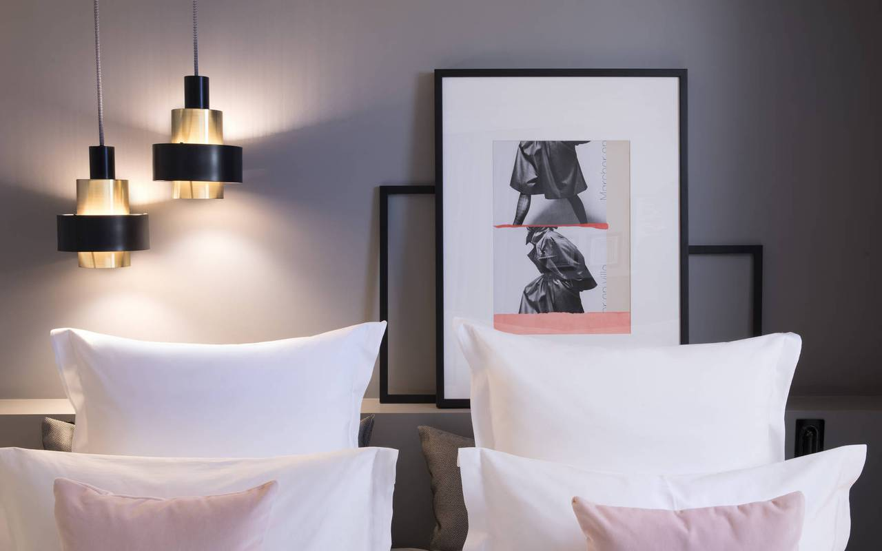 Pillowcases hotel flanelles paris